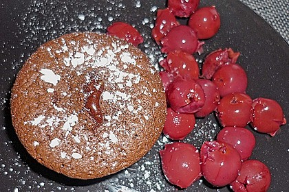 Schokoladenkuchen mit flüssigem Kern à la Italia 107