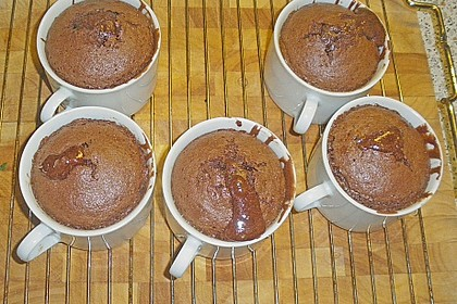 Schokoladenkuchen mit flüssigem Kern à la Italia 140