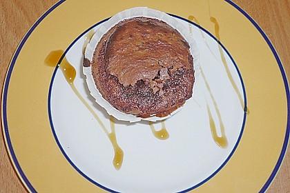 Schokoladenkuchen mit flüssigem Kern à la Italia 175