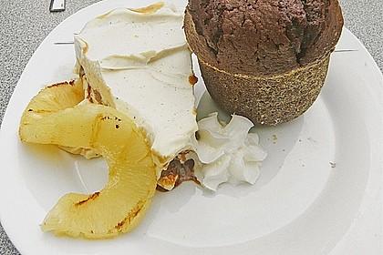 Schokoladenkuchen mit flüssigem Kern à la Italia 86