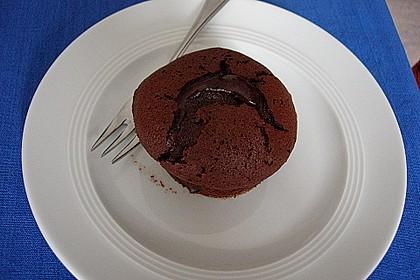 Schokoladenkuchen mit flüssigem Kern à la Italia 85