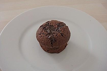 Schokoladenkuchen mit flüssigem Kern à la Italia 79