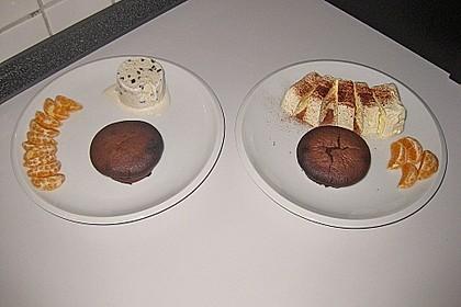 Schokoladenkuchen mit flüssigem Kern à la Italia 110