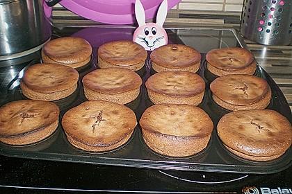 Schokoladenkuchen mit flüssigem Kern à la Italia 165