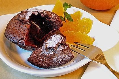 Schokoladenkuchen mit flüssigem Kern à la Italia 20