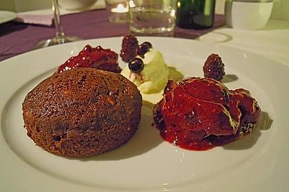 Schokoladenkuchen mit flüssigem Kern à la Italia 101