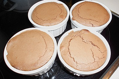 Schokoladenkuchen mit flüssigem Kern à la Italia 162