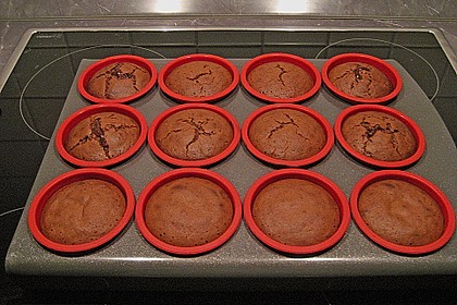 Schokoladenkuchen mit flüssigem Kern à la Italia 117