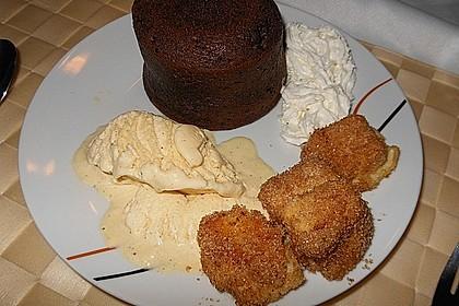 Schokoladenkuchen mit flüssigem Kern à la Italia 155