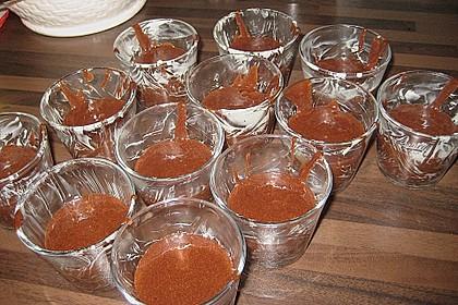 Schokoladenkuchen mit flüssigem Kern à la Italia 187
