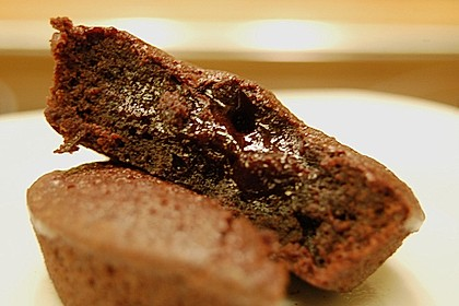 Schokoladenkuchen mit flüssigem Kern à la Italia 143