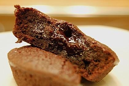 Schokoladenkuchen mit flüssigem Kern à la Italia 157