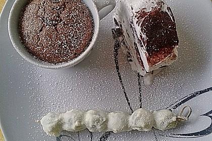 Schokoladenkuchen mit flüssigem Kern à la Italia 46