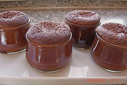 Schokoladenkuchen mit flüssigem Kern à la Italia 39