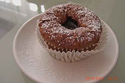 Schokoladenkuchen mit flüssigem Kern à la Italia 102