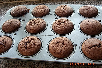 Schokoladenkuchen mit flüssigem Kern à la Italia 104