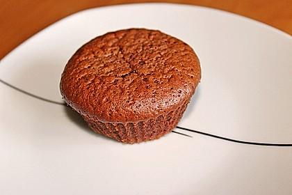 Schokoladenkuchen mit flüssigem Kern à la Italia 81