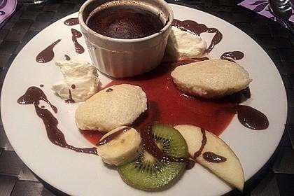 Schokoladenkuchen mit flüssigem Kern à la Italia 21