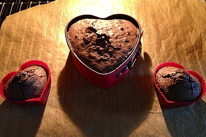 Schokoladenkuchen mit flüssigem Kern à la Italia 156