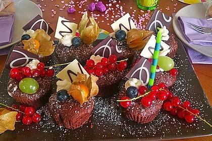 Schokoladenkuchen mit flüssigem Kern à la Italia 8