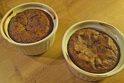 Schokoladenkuchen mit flüssigem Kern à la Italia 173
