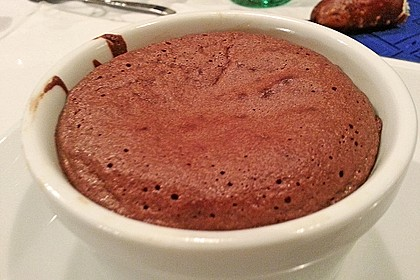 Schokoladenkuchen mit flüssigem Kern à la Italia 119