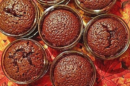Schokoladenkuchen mit flüssigem Kern à la Italia 109