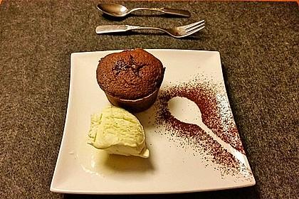 Schokoladenkuchen mit flüssigem Kern à la Italia 23