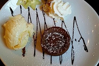 Schokoladenkuchen mit flüssigem Kern à la Italia 13