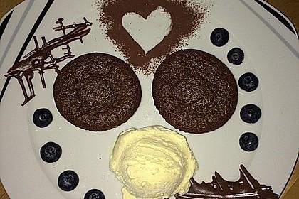 Schokoladenkuchen mit flüssigem Kern à la Italia 31