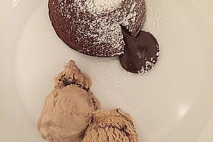 Schokoladenkuchen mit flüssigem Kern à la Italia 25