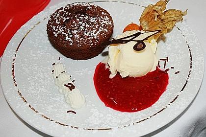 Schokoladenkuchen mit flüssigem Kern à la Italia 15