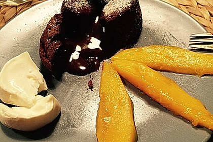 Schokoladenkuchen mit flüssigem Kern à la Italia 26