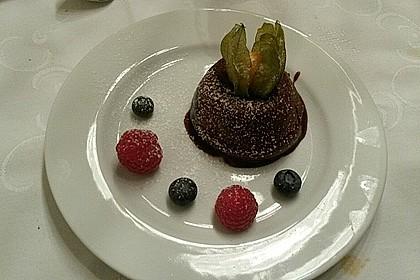Schokoladenkuchen mit flüssigem Kern à la Italia 42