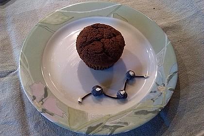 Schokoladenkuchen mit flüssigem Kern à la Italia 84