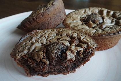 Schokoladenkuchen mit flüssigem Kern à la Italia 132