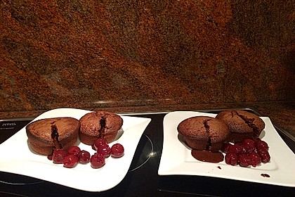 Schokoladenkuchen mit flüssigem Kern à la Italia 32