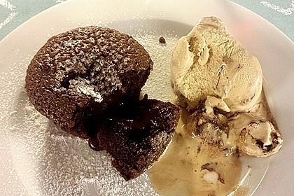 Schokoladenkuchen mit flüssigem Kern à la Italia 22