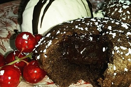 Schokoladenkuchen mit flüssigem Kern à la Italia 1