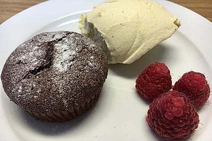 Schokoladenkuchen mit flüssigem Kern à la Italia 24