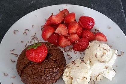 Schokoladenkuchen mit flüssigem Kern à la Italia 134