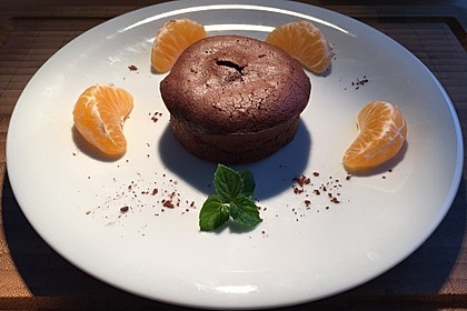 Schokoladenkuchen mit flüssigem Kern à la Italia 62
