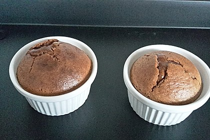 Schokoladenkuchen mit flüssigem Kern à la Italia 92