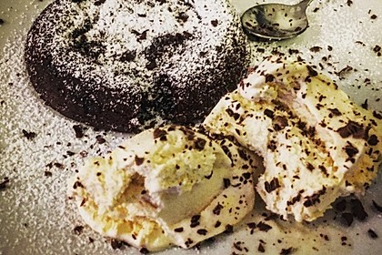 Schokoladenkuchen mit flüssigem Kern à la Italia 106