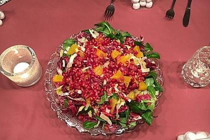 Wintersalat mit Chicoree und Radicchio 3
