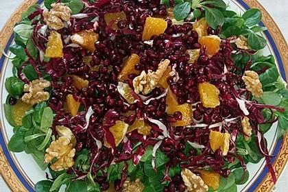 Wintersalat mit Chicoree und Radicchio 10