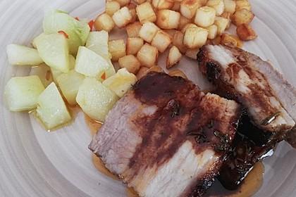 Schweinebauch aus dem Ofen, knusprig 5
