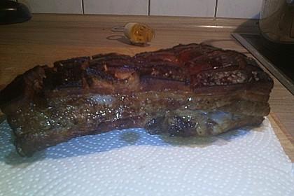 Schweinebauch aus dem Ofen, knusprig 9