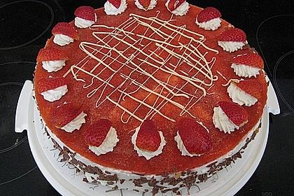 Erdbeer - Limetten - Torte 3