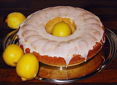 Wodka - Lemon - Tassen - Kuchen